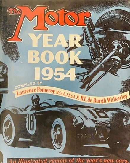 Picture of THE MOTOR YEAR BOOK 1954