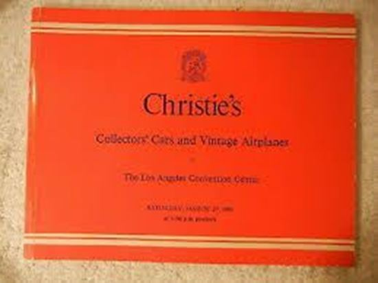 Picture of CHRISTIE'S COLLECTORS CARS AND VINTAGE AIRPLANES