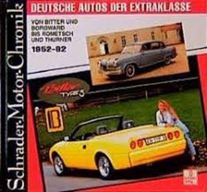 Picture of DEUTSCHE AUTOS DER EXTRAKLASSE 1952-92. Serie Schrader Motor-Chronik