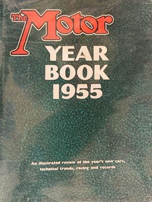 Picture of THE MOTOR YEAR BOOK 1955