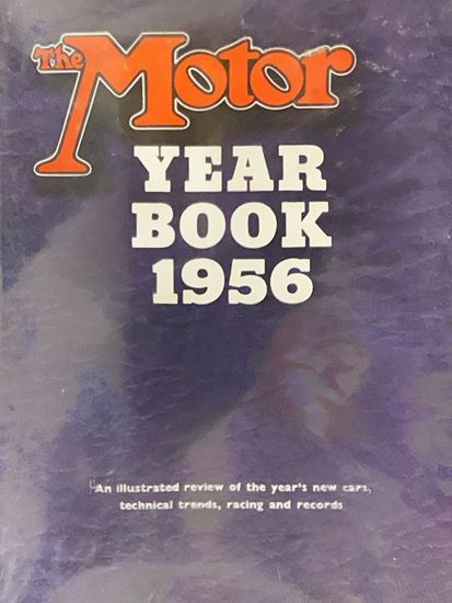 Picture of THE MOTOR YEAR BOOK 1956