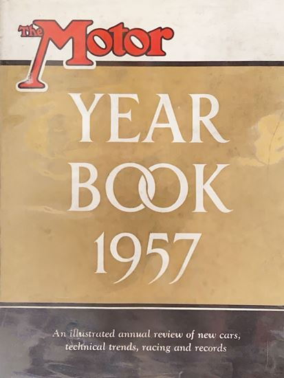 Picture of THE MOTOR YEAR BOOK 1957