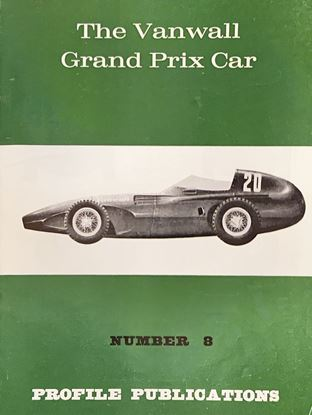 Picture of THE VANWALL GRAND PRIX CAR  PROFILE PUBLICATION N.08