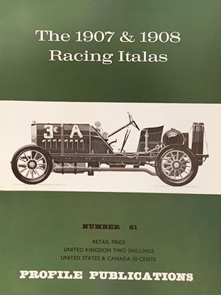 Picture of THE 1907 & 1908 RACING ITALAS PROFILE PUBLICATION N.61