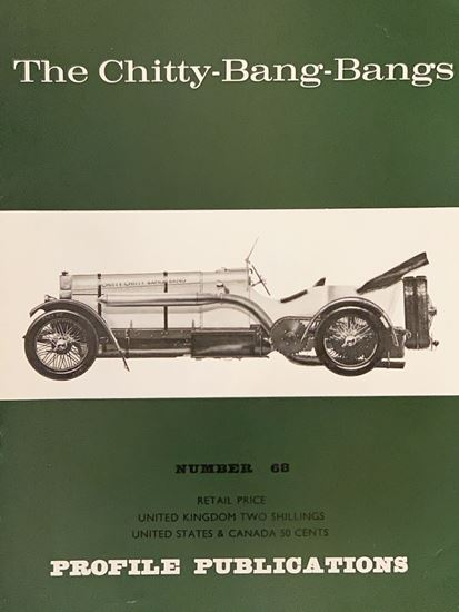 Picture of THE CHITTY BANG BANGS PROFILE PUBLICATION N.68