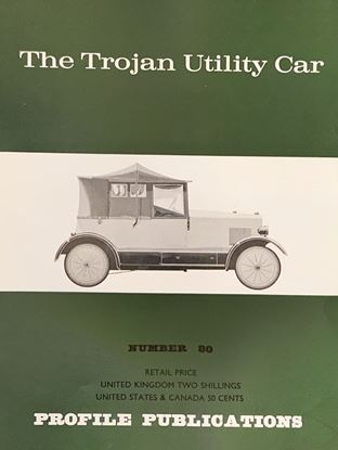 Picture of THE TROJAN UTILITY CAR PROFILE PUBLICATION N.80