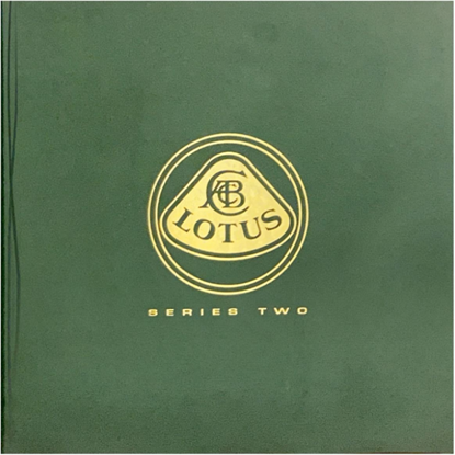 Immagine di THE LOTUS BOOK SERIES TWO THE COMPLETE HISTORY OF LOTUS CARS