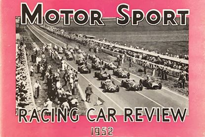 Picture of RACING CAR REVIEW 1952