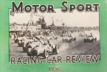 Picture of RACING CAR REVIEW 1950
