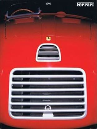 Picture of FERRARI ANNUARIO/OFFICIAL YEARBOOK 1991. Testo inglese/English text