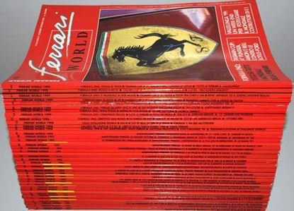 Picture of Serie Completa FERRARI WORLD MAGAZINE dal n. 01/1989 al n. 60/1999 Ed.Italiana