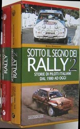 Immagine di SOTTO IL SEGNO DEI RALLY VOL. I + II in cofanetto - ED. LIMITATA DI 200 PEZZI/LIMITED EDITION - COPIA FIRMATA DALL'AUTORE! / SIGNED COPY BY THE AUTHOR!