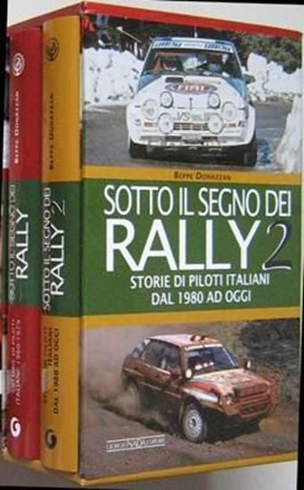 Picture of SOTTO IL SEGNO DEI RALLY VOL. I + II in cofanetto - ED. LIMITATA DI 200 PEZZI/LIMITED EDITION OF 200 PIECES