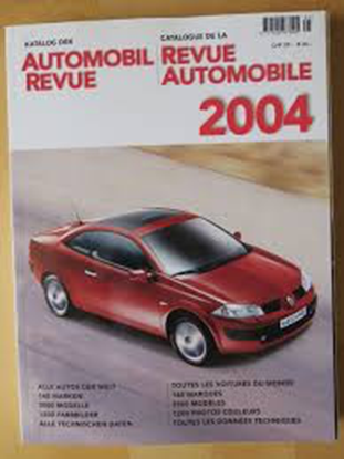 Picture of AUTOMOBIL REVUE 2004