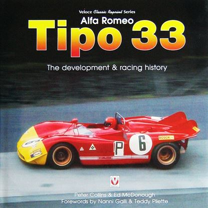Picture of ALFA ROMEO TIPO 33: THE DEVELOPMENT & RACING HISTORY