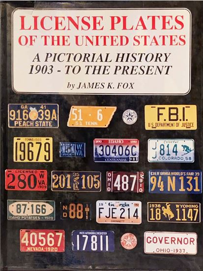 Picture of LICENSE PLATES OF THE UNITED STATES