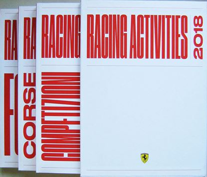 Immagine di FERRARI RACING ACTIVITIES 2018 (3 volumi in cofanetto)