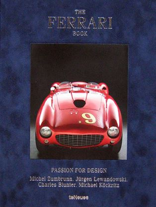 Immagine di THE FERRARI BOOK PASSION FOR DESIGN. Edizione 2017 con copertina in velluto blu