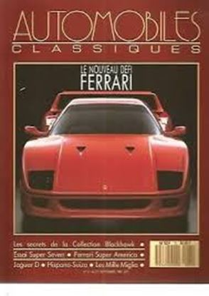 Picture of AUTOMOBILES CLASSIQUES N.21/1987