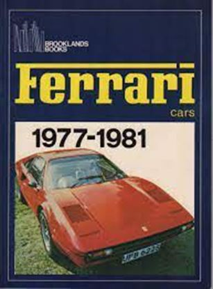 "Picture of FERRARI CARS 1977-1981. Serie ""Brooklands Books"""