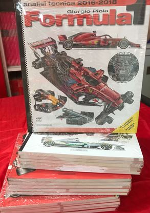 Picture of COMPLETE SET FORMULA 1 ANALISI TECNICA from 1998 to 2018 (19 volumes)
