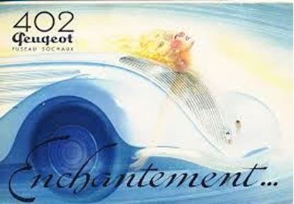 Picture of PEUGEOT 402 FUSEAU SOCHAUX - ENCHANTEMENT