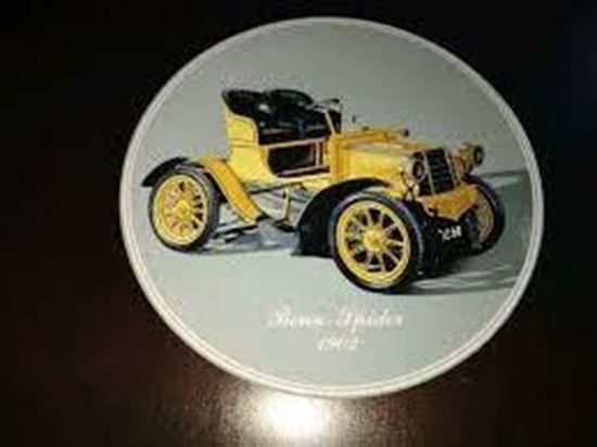 Picture of PIATTO BENZ SPIDER 1902 WANDTELLER/ASSIETTE MURALE/WALL PLATE