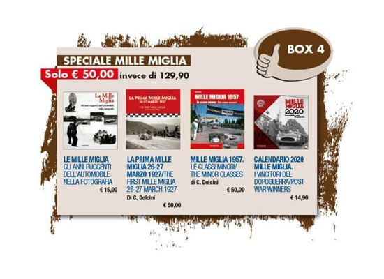 Picture of BOX 4 - SPECIALE MILLE MIGLIA -  fino al 20/12/2020