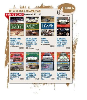 Picture of BOX 6 - SPECIALE RALLY+DVD -  fino al 20/12/2020