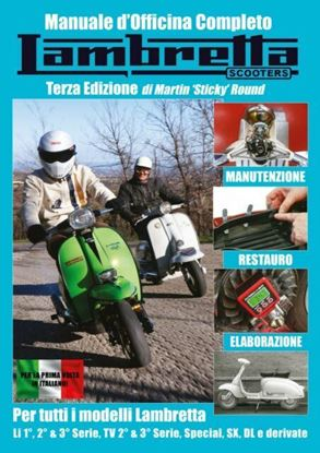 Picture of LAMBRETTA SCOOTERS:  MANUALE D'OFFICINA COMPLETO