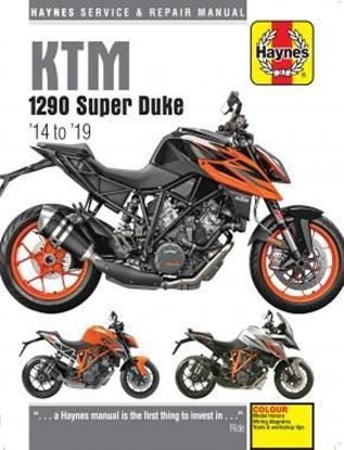Picture of KTM 1290 SUPER DUKE 2014-2019 SERVICE AND REPAIR MANUAL N. 6473