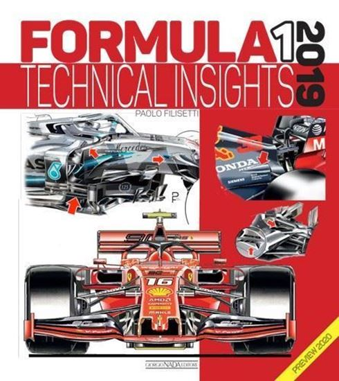 Picture of FORMULA 1 2019 Technical insights (with preview 2020) -  COPIA FIRMATA DALL'AUTORE! / SIGNED COPY BY THE AUTHOR!