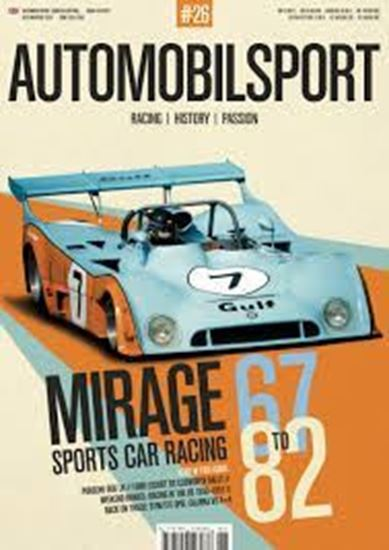 Immagine di AUTOMOBILSPORT N.26: Special MIRAGE SPORTS CAR RACING 67 TO 82