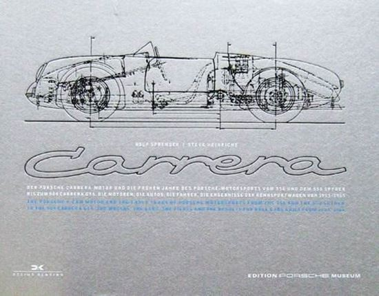 Picture of PORSCHE CARRERA 1953-1965: THE PORSCHE 4-CAM MOTOR AND THE EARLY YEARS OF PORSCHE MOTORSPORTS /DER PORSCHE CARRERA MOTOR UND DIE FRÜHEN JAHRE DES PORSCHE MOTORSPORT