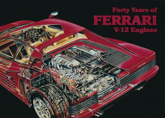 Immagine di FORTY YEARS OF FERRARI V12 ENGINES