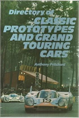 Picture of DIRECTORY OF CLASSIC PROTOTYPES  AND GRAND TOURING CARS