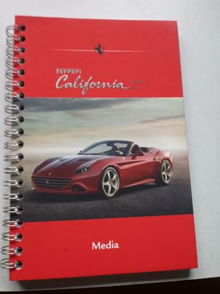 Picture of FERRARI CALIFORNIA T BLOCK NOTES. Press Media Kit