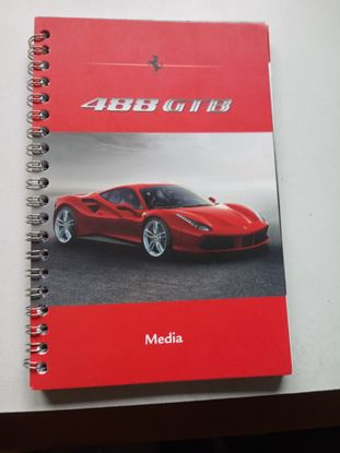 Picture of FERRARI 488 GTB BLOCK NOTES. Press Media Kit