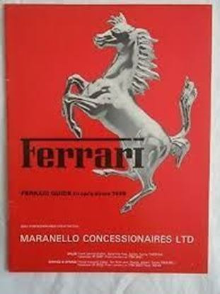 Picture of FERRARI GUIDE TO CARS SINCE 1959