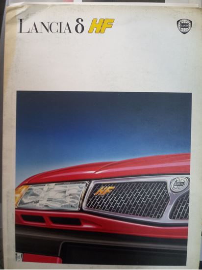 Picture of LANCIA DELTA HF 1993 CARTELLA STAMPA/PRESS KIT