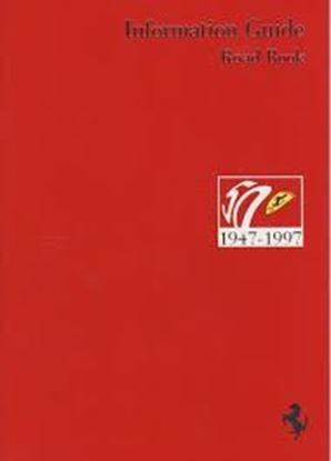 Picture of FERRARI 1947-1997 INFORMATION GUIDE ROAD BOOK 5M/06/97