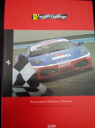 Picture of FERRARI CHALLENGE TROFEO PIRELLI 2009 SPORTING AND TECHNICAL REGULATIONS