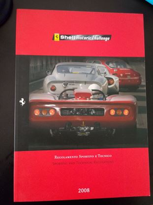 Picture of FERRARI SHELL HISTORIC CHALLENGE 2008 SPORTING AND TECHNICAL REGULATIONS