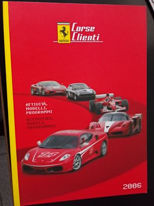 Picture of FERRARI CORSE CLIENTI ACTIVITIES MODELS PROGRAMMES 2006