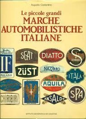 Picture of LE PICCOLE GRANDI MARCHE AUTOMOBILISTICHE ITALIANE