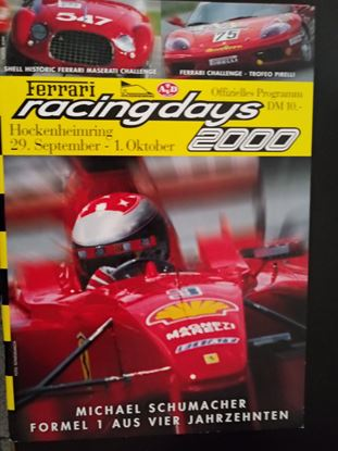 Immagine di FERRARI RACING DAYS 2000: HOCKENHEIMRING 29 SEPTEMBER-1 OKTOBER