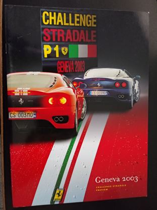 Picture of FERRARI CHALLENGE STRADALE P1 GENEVA 2003 PREVIEW