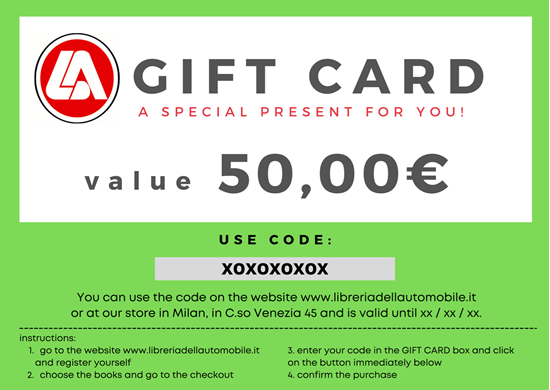 Picture of GIFT CARD VALUE OF 50,00 EURO