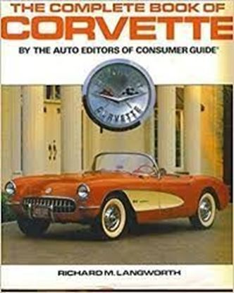 Picture of THE COMPLETE BOOK OF CORVETTE by the Auto Editors of  Consumer Guide