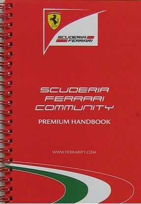 Picture of FERRARI MEDIA BOOK 2012 SCUDERIA FERRARI COMMUNITY PREMIUM HANDBOOK